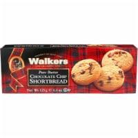 Walkers Pure Butter Gluten Free Chocolate Chip Shortbread 4.9oz Pk6 - 6