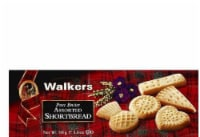 Walkers Assorted Pure Butter Shortbread, 5.6 OZ (Pack of 12) - 12