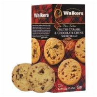 Walkers Pure Butter Salted Caramel & Milk Chocolate Chunk Shortbread 4.7oz Pk12 - 12