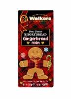 Walkers Pure Butter Shortbread Gingerbread Men 4.4oz PK 6 - 12