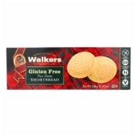 Walkers Shortbread Short Bread Cookies - Round - Case of 6 - 4.9 oz. - 4.9 OZ