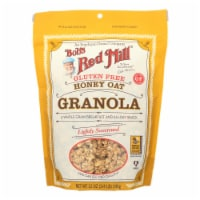 Bob's Red Mill - Gluten Free Honey Oat Granola - 12 oz - Case of 4