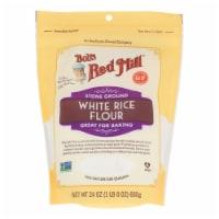 Bob's Red Mill - Flour Wht Rice Stne Ground - Case of 4-24 OZ - 24 OZ