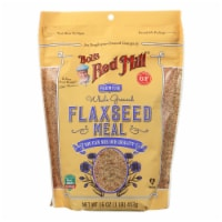 Bob's Red Mill - Flaxseed Meal - Gluten Free - Case of 4 - 16 oz - 16 OZ