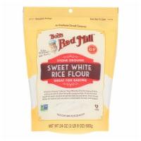 Bob's Red Mill - Rice Flour Sweet Whte Gluten Free - Case of 4 - 24 OZ - 24 OZ