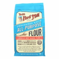 Bob's Red Mill - Unbleached White All-Purpose Baking Flour - 5 lb - Case of 4 - 5 #