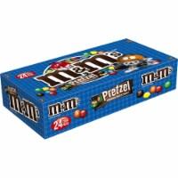 M&M's Chocolate Candies, Pretzel, 1.14 oz. Bags (case of 24) - 24 count