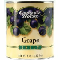 Jelly Carriage House Concord Grape 6 Case 10 Can - 6-8 POUND