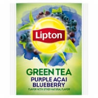 Lipton Purple Acai Blueberry Green Tea, 20 count per pack -- 6 per case.