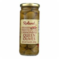 Roland Products - Olives Stfd Cannonball Qn - Case of 12 - 9.5 OZ