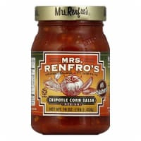 Mrs. Renfro's Salsa Chipotle Corn, 16 OZ (Pack of 6)