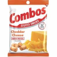 Combos Cheddar Cheese Pretzel Snack, 6.3 Ounce -- 12 per case.