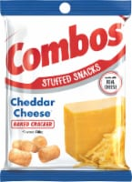 Combos Cheddar Cheese Cracker Snack, 6.3 Ounce -- 12 per case.