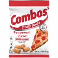 Combos Pepperoni Pizza Cracker Snack, 6.3 Ounce -- 12 per case.