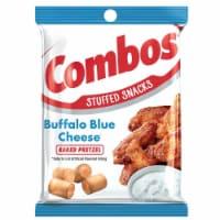 Combos Buffalo Blue Cheese Snack, 6.3 Ounce -- 12 per case.