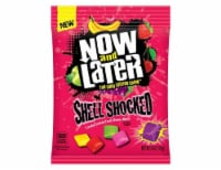 Now & Later Assorted Sour Shell Shocked Candy Coated Sour Chewy Bites