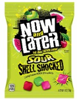 Now & Later Sour Shell Shocked Candy