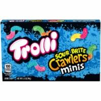 Trolli Sour Brite Crawlers Minis Gummi Candy