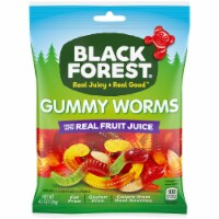 Black Forest  Gummy Worms Candy 12 Count
