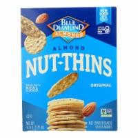 Blue Diamond - Nut Thins - Almond - Case of 12 - 4.25 oz.