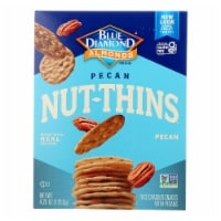 Blue Diamond - Nut-Thin Pecan Nut Crackers - 4.25 oz - 4.25 OZ