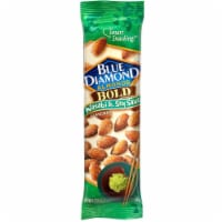Blue Diamond Wasabi and Soy Sauce Almonds, 1.5 Ounce -- 12 per case. - NO