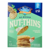 Blue Diamond - Nut Thins - Country Ranch - Case of 12 - 4.25 oz. - 4.25 OZ