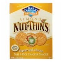 Blue Diamond Pepper Jack Cheese Almond Nut Thins