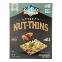 Blue Diamond - Artisan - Flax Seed Nut-Thins - 4.25 oz