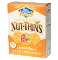 Blue Diamond Asiago Cheese Nut Cracker, 4.25 OZ (Pack of 12)