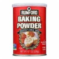 Rumford Baking Powder - Aluminum Free - Non-Gmo - Case of 12 - 8.1 oz - 8.1 OZ