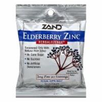 Zand Black Elderberry Flavor Elderberry Zinc Lozenges, 15 ea (Pack of 12) - 12