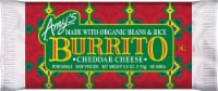 Amy's Bean and Cheddar Cheese Burrito - 12 ct / 6 oz