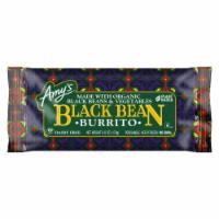 Amy's Vegetarian, Black Bean Vegetable Burrito (Dairy Free), 6 oz. (12 Count) - 12 Count