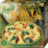 Amy's Vegetarian, Country Cheddar Bowl, 9.5 oz. (12 Count) - 12 Count
