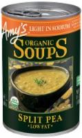 Amy's Organic Light in Sodium Split Pea Soup - 12 ct / 14.1 oz