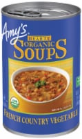 Amy's Hearty Organic French Country Vegetable Vegetarian Soup - 12 ct / 14.4 oz