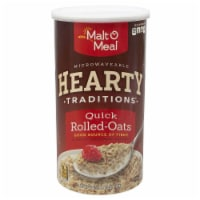 Malt-O-Meal Tradition Hearty Quick Oat Cereal, 42 Ounce -- 12 per case.