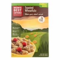 Mom's Best Naturals Wheat-Fuls - Toasted - Case of 12 - 24 oz. - 24 OZ