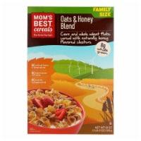 Mom's Best Naturals Oats and Honey Blend - Case of 14 - 18 oz. - 18 OZ