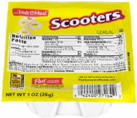 Malt O Meal Scooters Cereal, 1 Ounce -- 96 per case.
