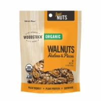 Woodstock Organic Walnuts Halves and Pieces - Case of 8 - 5.5 OZ - 5.5 OZ
