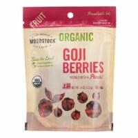 Woodstock - Organic Goji Berries - Case of 8 - 4 oz. - 4 OZ