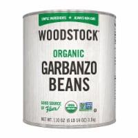 Woodstock Organic Garbanzo Beans - Case of 6 - 110 OZ - Case of 6 - 110 OZ each