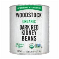Woodstock Organic Dark Red Kidney Beans - Case of 6 - 111 OZ - Case of 6 - 111 OZ each