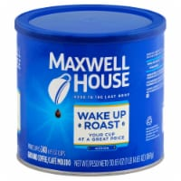 Maxwell House Wake Up Roast Medium Coffee, 30.65 Ounce -- 6 per case.