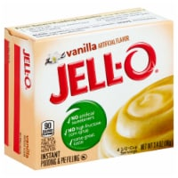 Jell-O Instant Vanilla Pudding 24 Case 3.4 Ounce - 5