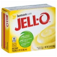 Jello Instant Lemon Pudding, 3.5 Ounce -- 24 Case