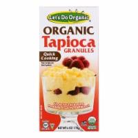 Let's Do Organics Tapioca Granules - Case of 6 - 6 oz.