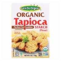 Let's Do Organics Tapioca Starch - Organic - 6 oz - Case of 6 - Case of 6 - 6 OZ each
